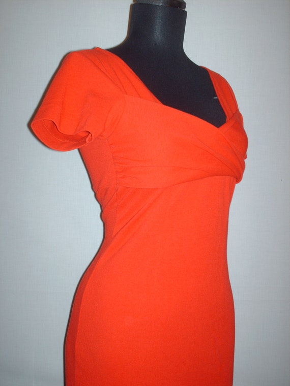 Vintage 1990s Red Bodycon Dress