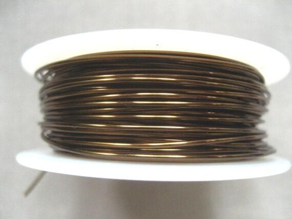 18ft -- 22 ga Vintage Bronze Wire