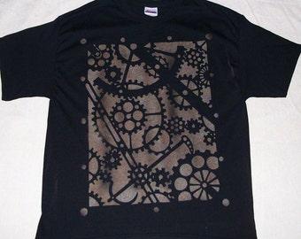 Steam Punk Large Print Tee Shirt