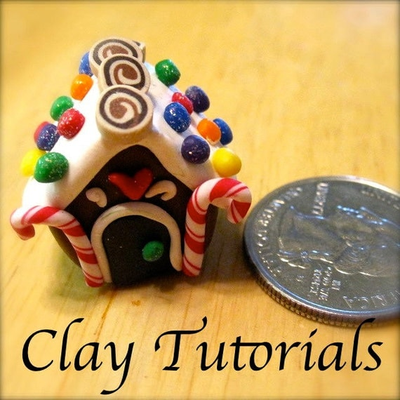 Mini Gingerbread House Diy: Items Similar To How To Make A Miniature Gingerbread House