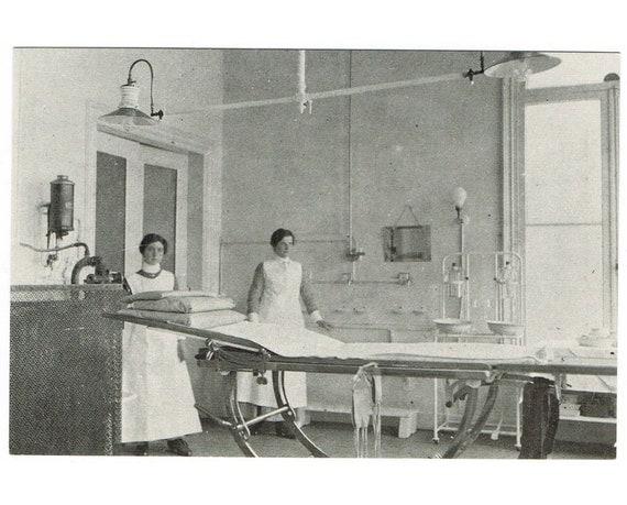 Vintage Postcard Holland - Hospital - Europe 1905