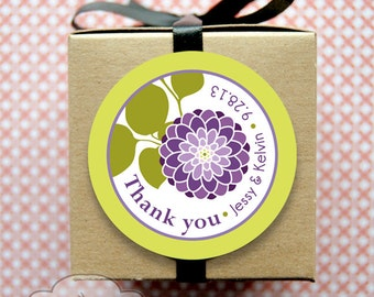 """Custom labels and seals, for weddings, parties, goodie bags, personal stationery, 1.5"""" round // set of 50"""