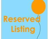 Reserved party package for Kristyn
