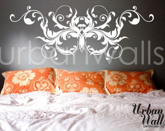 Vinyl Wall Sticker Decal Art - Flourish