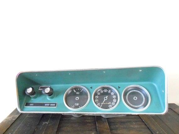 vintage 1970s amc hornet dashboard cover - automotive - rockabilly - retro car