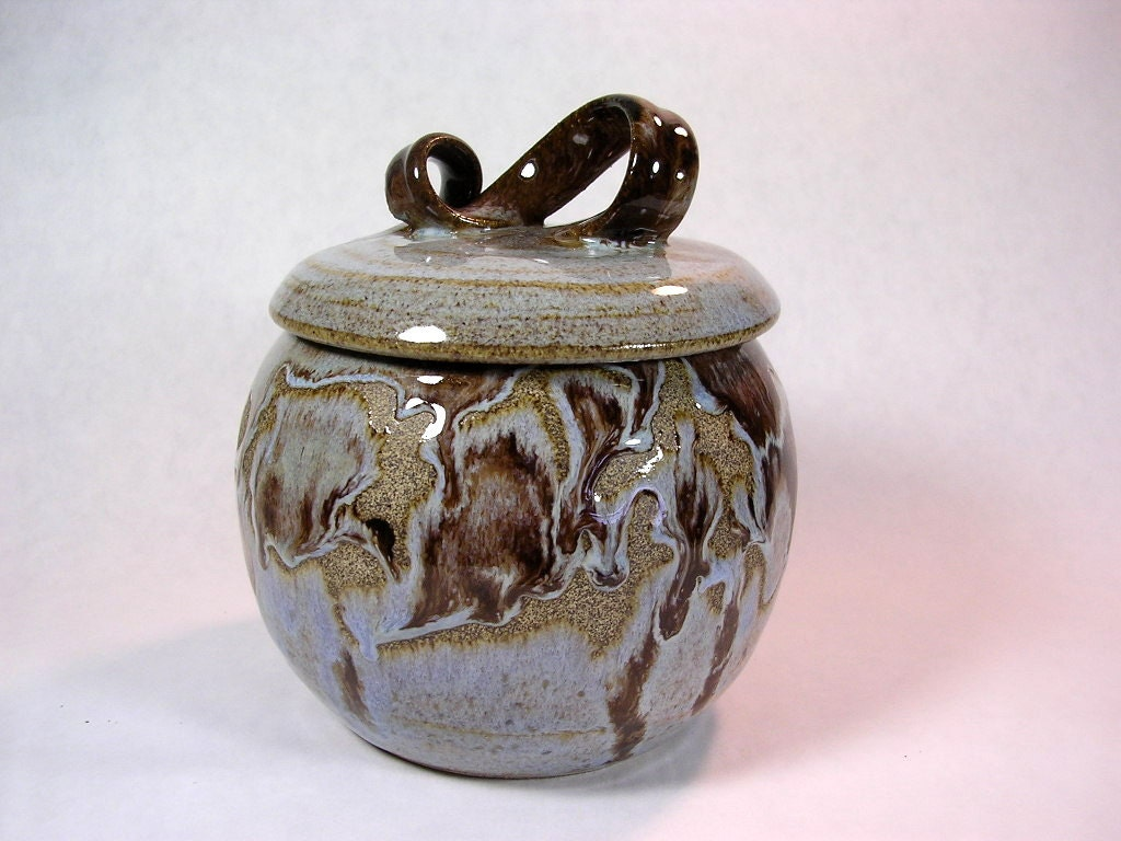 Ceramic Jar With Lid Kitchen Canister