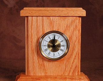 Desk clock,  miniature  table top clock