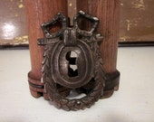 Vintage French Ornate Escutcheon