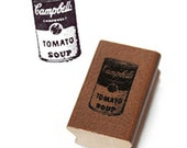 Campbell Soup Stamp (0.8 x 1.2in)