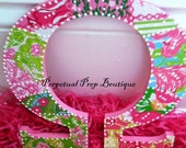 Omega Lilly Pulitzer Print Letter