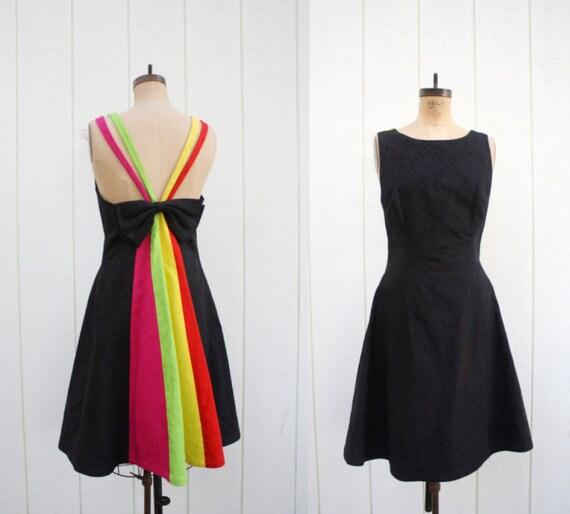 prism dress . technicolor dream dress