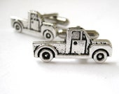 Pickup Truck Cufflinks - Country Wedding Ideas - Farmer Gift - Mens Cuff Links - Dad Trucker