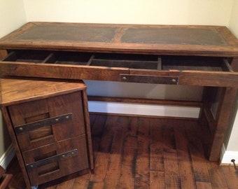 Steel Top Desk