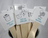 Chore Stick Picture Tags
