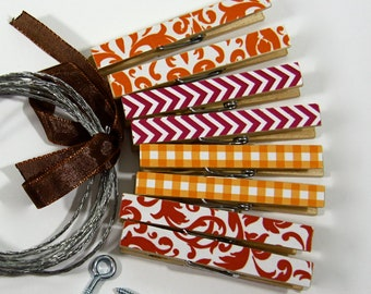 Clothesline Kit. Mix and Match. You choose the Patterns. Clothespins and Hanging Wire
