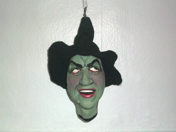 On Reserve for kroffty. The Wicked Witch of the West caricature ornament by  the late New York Artist Ron Kron 1 of 5