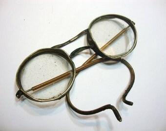 Vintage Metal Round Spectacles