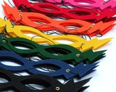 60 Super Hero Masks - BEST Selling Super Hero Party Favor Masks - Choose from 8 colors - Mix and match - Fits children and adults