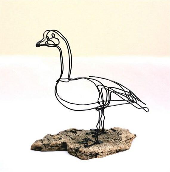 Goose Wire Sculpture