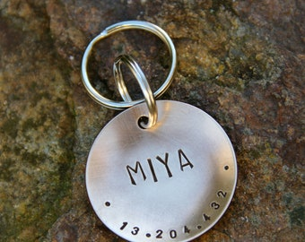 Custom Dog Tag / Custom Pet ID Tag - XL Big Boned - in 1.5'' Bronze