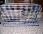 30 or 40 Gallon Breeder Aquarium Cage Topper Split Level  Front Door