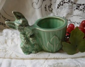 Scotty Dog Terrier Planter  Vintage by Quilted Nest