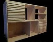Large modern sideboard storage cabinet.