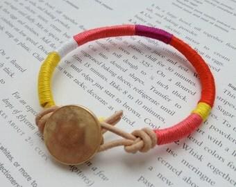 Pocket Full of Sunshine Friendship Bracelet - MANGO