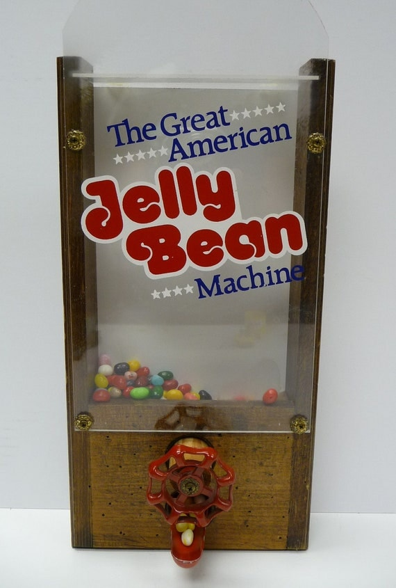 Vintage Candy Dispenser The Great American Jelly By