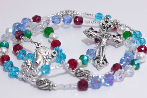 Mothers Birthstone Rosary