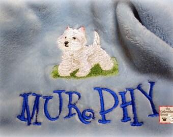 West Highland Terrier Pet Blanket
