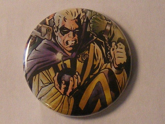 """Comic Book 1.5"""" Button// Flash's Rogues// Trickster"""