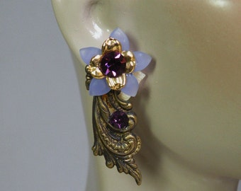 Violet Wisper Earrings