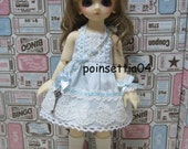 Super Dollfie Yo SD Blue Lace One Piece Dress Set