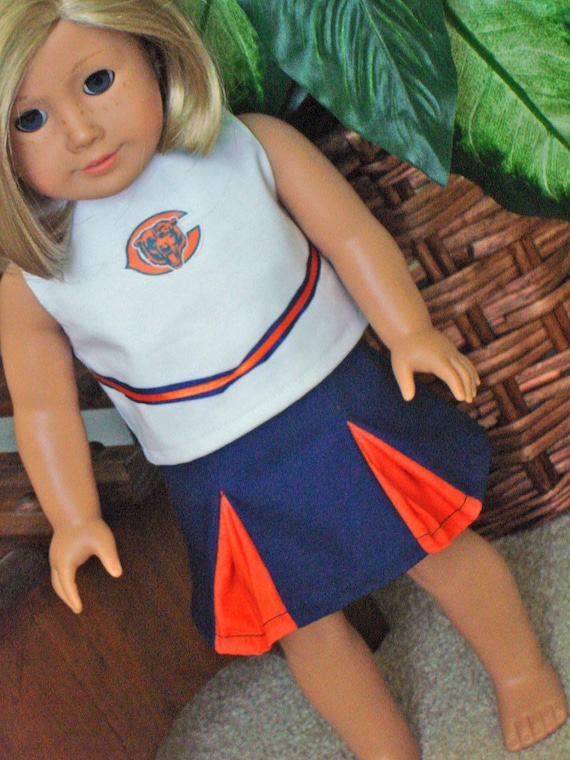 American Girl Chicago Bears Cheerleading Outfit by Sewsweetdaisy