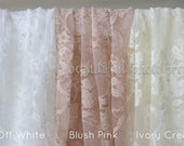 Stretch Lace Wrap Cream Tones Newborn Photography Prop Baby Swaddle