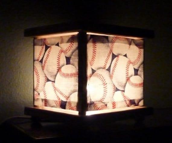 Baseball Night Light Lantern Lamp