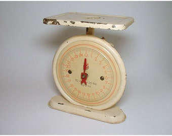 Vintage Kitchen Scale by FR - circa 1940's