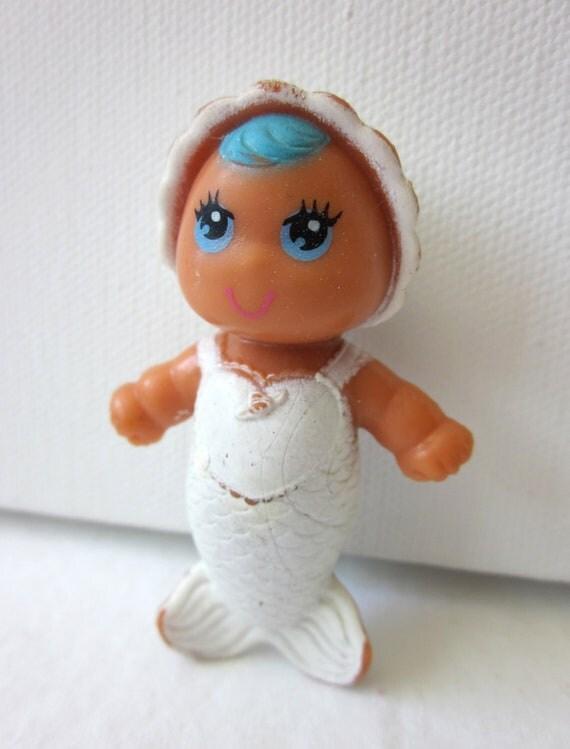 Vintage Sea Wees Mermaid Doll - Baby Cascade