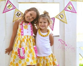 Lemonade Stand Banner - Sweet Pink Lemonade Collection
