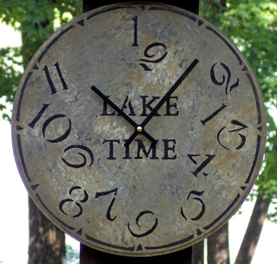 12 inch Lake Time Clock
