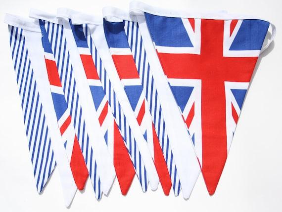 Union Jack Bunting - Union flag, Britannia, England, British bunting