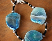 Bracelet Bahama Blue Agate