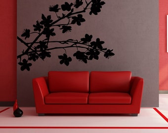 Vinyl Wall Decal Sticker Blooming Branch AC195s