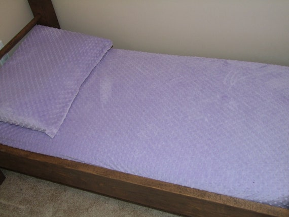 Lilac Minky Crib / Toddler / Playpen / Bassinet Fitted Sheet- Ships in 1-3 Days