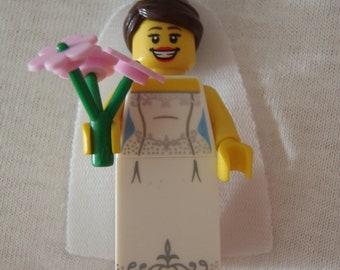 Custom Bride Necklace Made With Genuine LEGO® Bricks