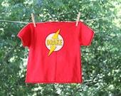 The Flash Superhero Birthday Personalized Name Shirt - short sleeve