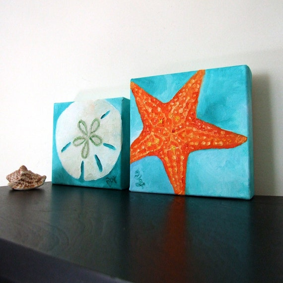 Sand Dollar And Shell Room Decor