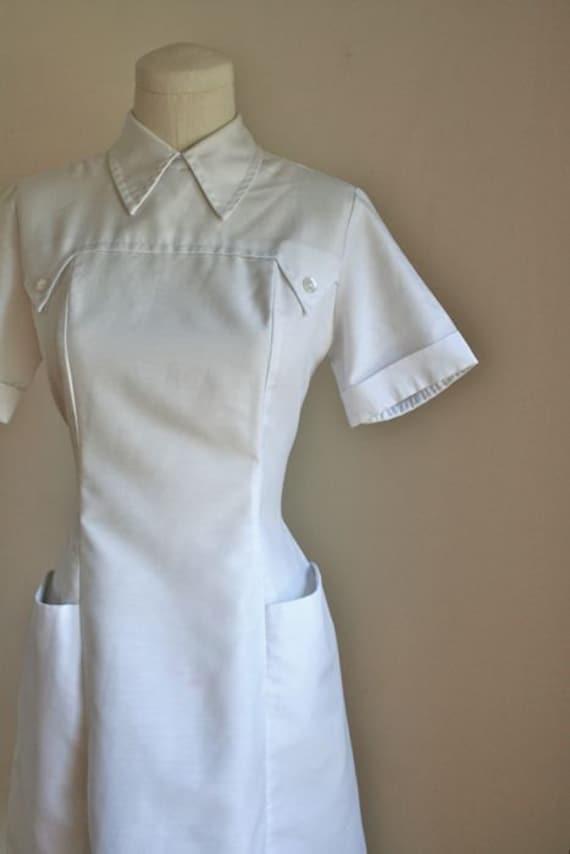 Vintage 60s Nurse Uniform Nurse Jane Nurse Dress S