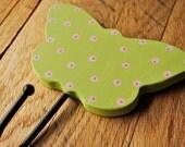 Butterfly hooks Butterly wall hooks Wooden coat hook Butterfly coat hook